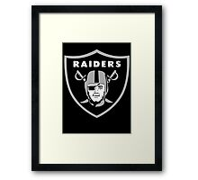 Ice Cube Raiders Framed Print