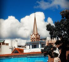 Church in Old City by cinema4design
