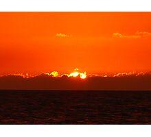 Sunset #4 Negril Jamaica Jan 25/09 Photographic Print