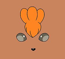 Vulpix Face by alienaviary