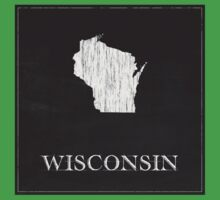 Wisconsin Map Kids Clothes