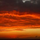 Sunset #6 Negril Jamaica Jan 25/09 by Linda Bianic