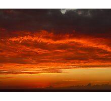 Sunset #6 Negril Jamaica Jan 25/09 Photographic Print