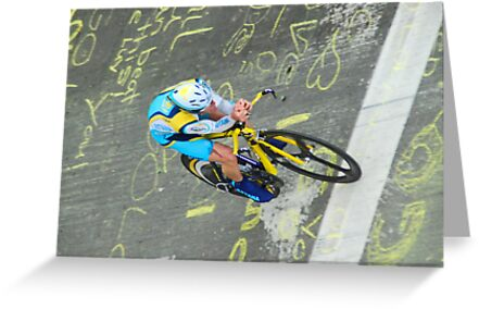 Levi Leipheimer at the AMGEN Prologue, Sacramento CA by Lenny La Rue, IPA