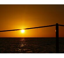 """""""hanging"""" by a rope Photographic Print"""