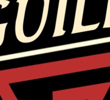 Guild Guitars Sticker