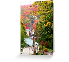 Homes in Bear River Greeting Card