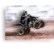 Four-Wheeling Fun Canvas Print