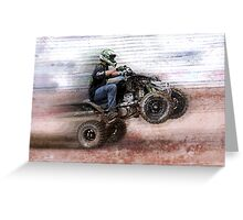 Four-Wheeling Fun Greeting Card