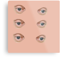 Buscemi eyes Metal Print