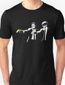 Pulp Fiction Banksy Unisex T-Shirt