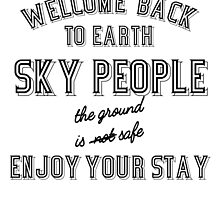 WELCOME BACK SKY PEOPLE by paton