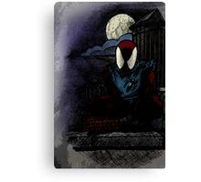 Scarlet Spider Canvas Print