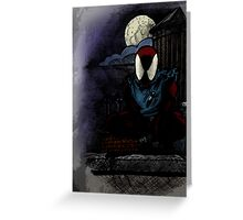 Scarlet Spider Greeting Card