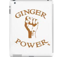 Ginger Power! iPad Case/Skin