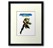 Metroid: Zero Mission Framed Print