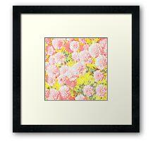 Mary Pink Pops Framed Print