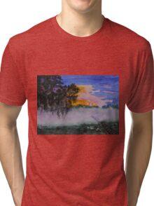Fog at Sunrise Tri-blend T-Shirt