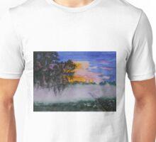 Fog at Sunrise Unisex T-Shirt