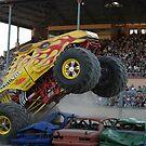 Monster trucks, Outback Thunda , Adelaide 2009 by Ralph  Meznar