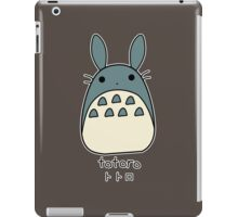 Totoro kawaii desu ni iPad Case/Skin