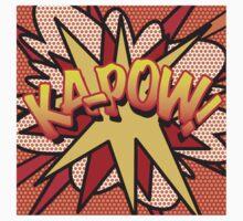 Comic Book KA-POW! Baby Tee