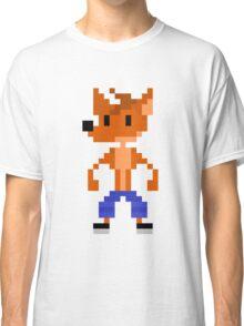 Crash Bandicoot Pixel Classic T-Shirt