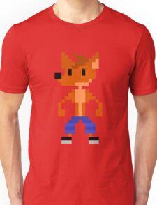 Crash Bandicoot Pixel Unisex T-Shirt