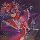 Dance with butterflies by dorina costras