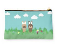 Easter bunnies Studio Pouch