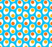 Boiled eggs by nekineko