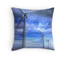 Ride Like The Wind....... Throw Pillow