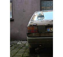 Forgotten Fiat Photographic Print