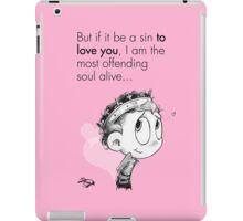 Valentine's  Little Henry V iPad Case/Skin