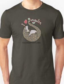 I ❤ Pangolins T-Shirt