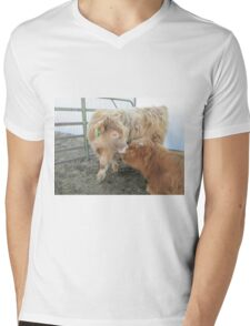 Gabriel and Anthony  12 March 2015 Mens V-Neck T-Shirt