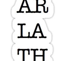 I heart Nyarlathotep Sticker