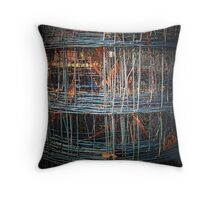 All Wired Up Throw Pillow