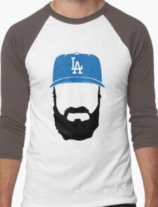 fear the beard Men's Baseball ¾ T-Shirt