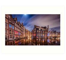 Amsterdam Red Light District Art Print