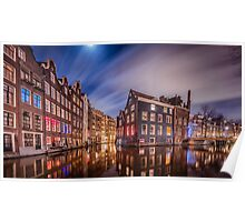 Amsterdam Red Light District Poster