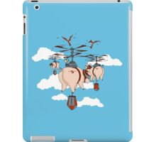 When pigs fly: Bacon revenge iPad Case/Skin