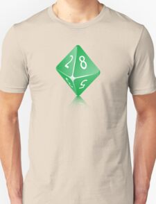8-sided Die T-Shirt