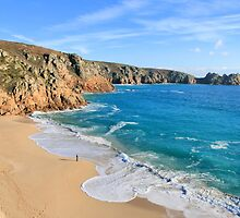 Porthcurno by cwwphotography