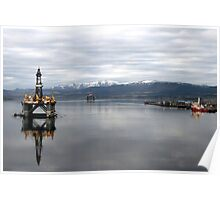 Cromarty Firth, NE Scotland. Poster