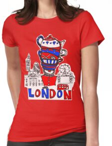 London Teatime Womens Fitted T-Shirt