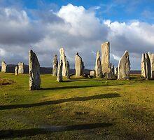 Standing Stones of Callanish by tinnieopener
