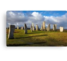 Standing Stones of Callanish Canvas Print