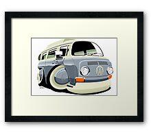 VW bay window T2 bus Framed Print
