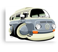 VW bay window T2 bus Canvas Print